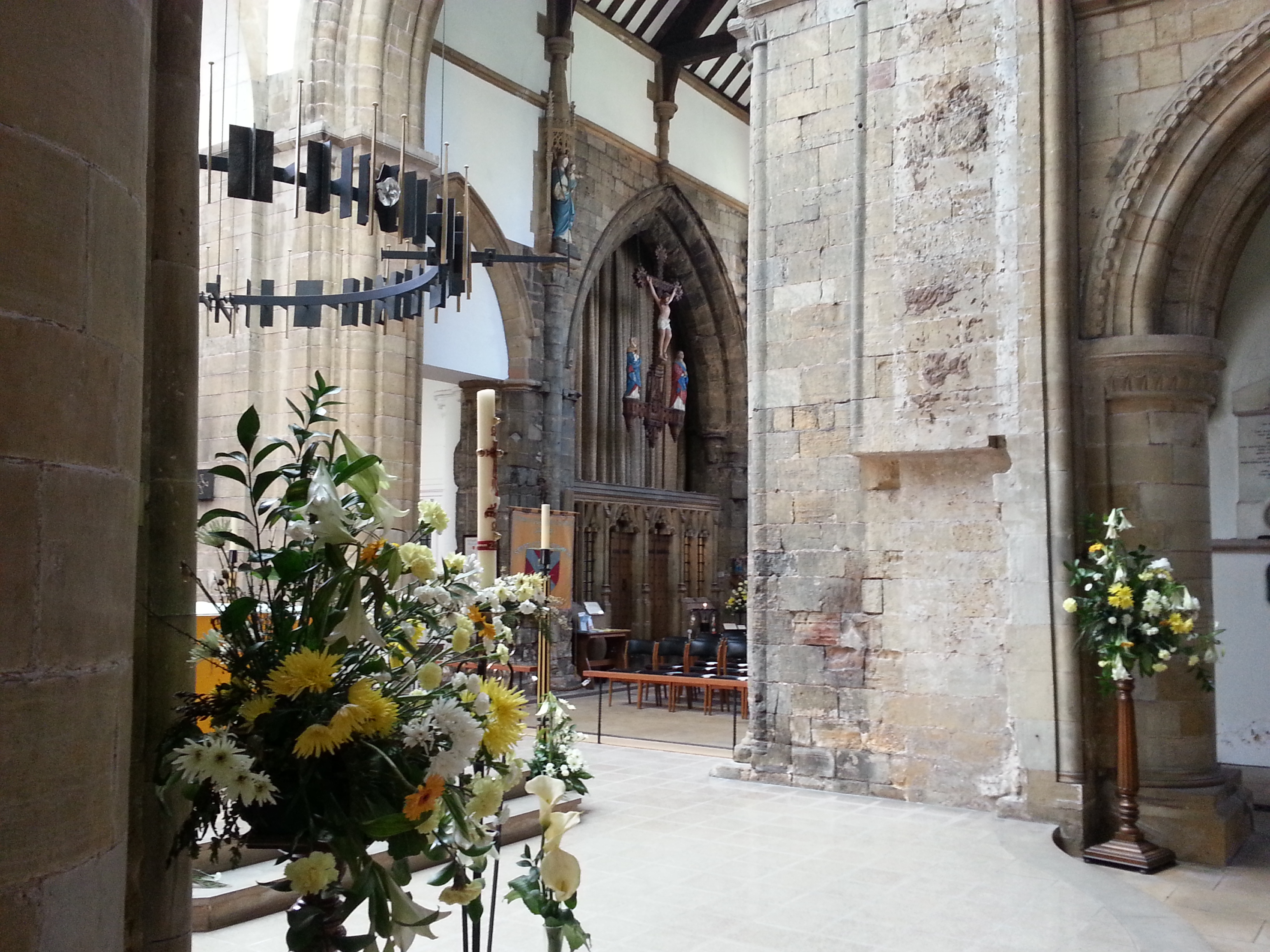 Servers view of the Lady Chapel
